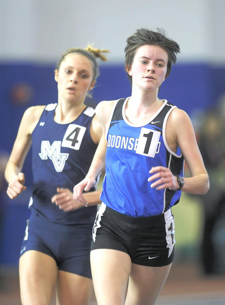 Boonsboro's Sarah Zielinski won the Class 1A girls 1,600-meter run and was second in the 3,200.
