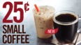 Burger King's Twitter hacked, but this 25 cent coffee deal is real