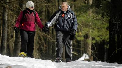 Now's The Time To Use Try Out Those Snowshoes
