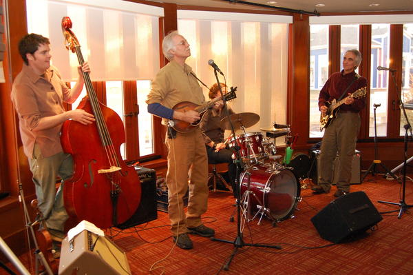 Jim Gillespie (center) performs with Dr. Good Hart's Home Remedy at the 2011 Manna event at cava in Bay Harbor. This year's fundraiser will take place on Tuesday, Feb. 26.