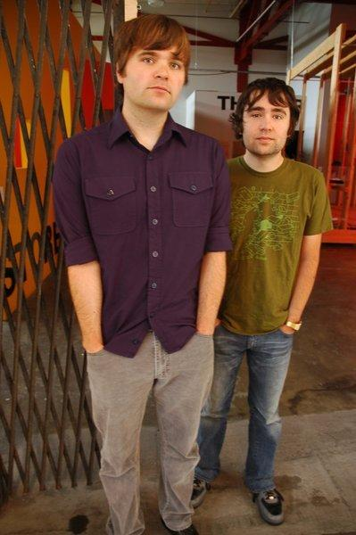 "<a href=""http://www.postalservicemusic.net/"" target=""_blank"">The Postal Service</a> 10th anniversary tour will reunite Postal Service principals Ben Gibbard and Jimmy Tamborello (pictured) with Jenny Lewis (Jenny & Johnny, Rilo Kiley), who appeared on the original album and played with the band on its 2003 dates. Lewis also sings on the two new songs on Give Up (Deluxe 10th Anniversary Edition). Laura Burhenn (Mynabirds, Bright Eyes) rounds out the 2013 touring lineup."