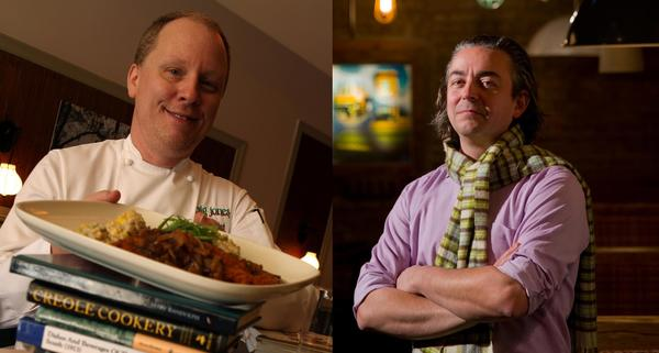 Paul Fehribach of Big Jones and Matthias Merges of Yusho are semifinalists for the 2013 James Beard Foundation Awards.