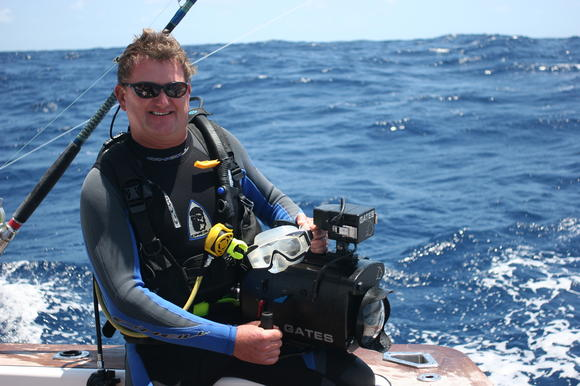 Guy Harvey, marine scientist and artist