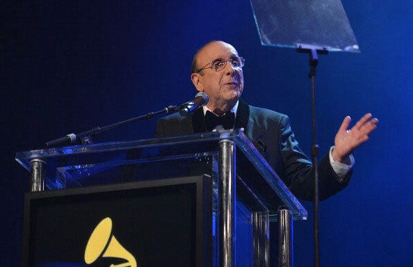 Sony Music Entertainment CCO Clive Davis speaks onstage at the 55th Annual GRAMMY Awards Pre-GRAMMY Gala and Salute to Industry Icons honoring L.A. Reid held at The Beverly Hilton on February 9, 2013 in Los Angeles, California.