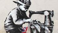 "North Londoners are furious over a missing Banksy mural that was torn off a building in the Wood Green neighborhood of the city and has since resurfaced online at <a href=""http://www.faamiami.com/"" target=""_blank"">Fine Art Auctions Miami</a>."