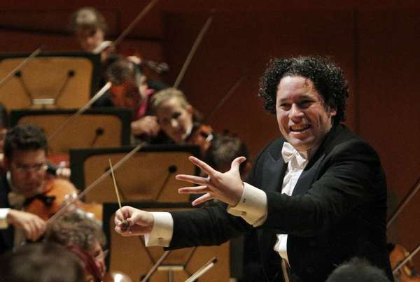 Gustavo Dudamel conducts the L.A. Philharmonic.