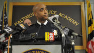 Baltimore City Police Commissioner Anthony  W. Batts