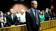 Oscar Pistorius appeared in a South African court on Tuesday facing charges that he shot and killed his girlfriend, Reeva Steenkamp, on Valentine's Day. Pistorius said that he thought Steenkamp was a burglar and he shot her under that assumption. Prosecutors say he knew it was Steenkamp, who was locked in a bathroom at the time of the shooting.