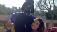 Kareem Abdul-Jabbar and Katherine Webb were hanging out poolside the other day, you know, just waiting for their turns on the high dive. Naturally, the Lakers legend was wearing a Darth Vader mask and ...