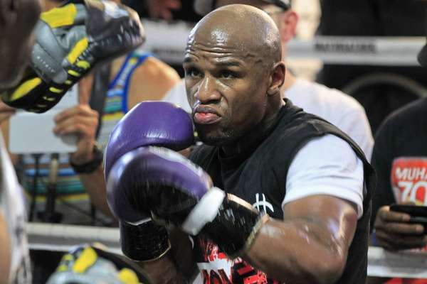 Floyd Mayweather will return to the ring on May 4.