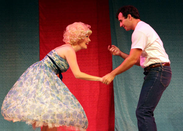 "Sheila Coyle and Christopher DeRosa in ""Life Is a Dream"" at Ivoryton Playhouse"