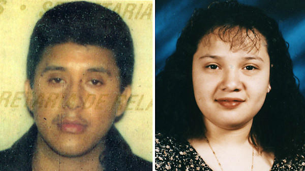 Fugitive Raul Andrade Tolentino, left, has been captured in Mexico and faces extradition to Chicago, where he is charged with the January 7, 2000 killing of his former girlfriend, Alma Chavez, according to government officials in Mexico and the U.S.