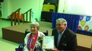 Sen. Dillard honors long-time Senior Center volunteer on her 100th birthday