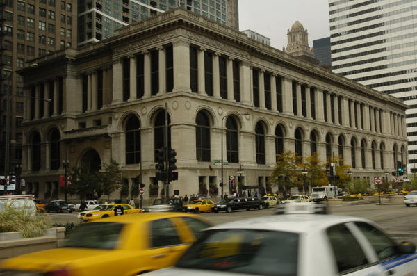 The Chicago Cultural Center in 2008. Tribune Photo by Nancy Stone