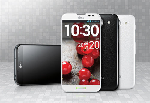 LG's Optimus G Pro is slated for release in North America as early as this spring.
