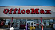 The stock prices of Office Depot Inc. and OfficeMax Inc. surged Tuesday on word that the companies are contemplating a merger to better compete against Staples Inc.