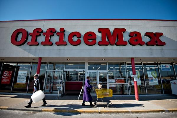 Office Depot and OfficeMax are reportedly mulling a merger.