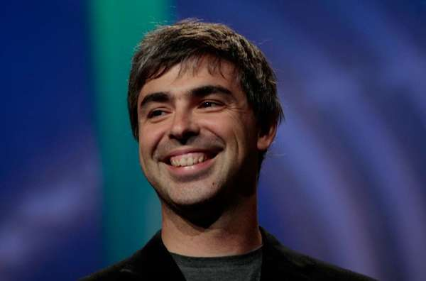 Google's stock crossed $800 for the first time Monday -- a feat never before achieved by a technology company -- and analysts are crediting Larry Page, its co-founder and chief executive.