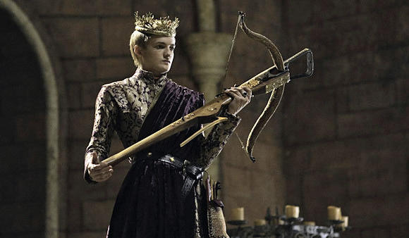 "Jack Gleeson is King Joffrey in ""Game of Thrones."""