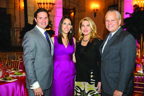 "New Orleans flair, fun and festivities filled the Flagler Museum Jan. 24 as the Community Foundation for Palm Beach and Martin counties hosted its 40th anniversary gala, ""An Evening in the Vieux Carré."" Photo by Lucien Capehart Photography"