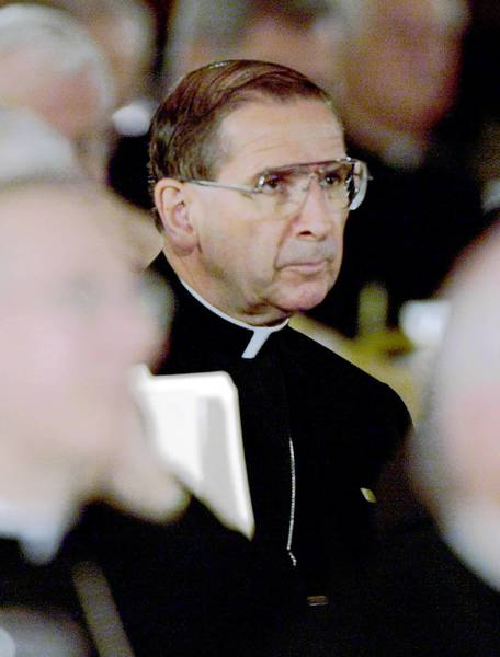 Cardinal Roger M. Mahony, seen here in 2002, pressed the Vatican to remove abusive priests.