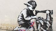 North Londoners are furious over a missing Banksy mural that was torn off a building in the Wood Green neighborhood of the city and has since resurfaced online at Fine Art Auctions Miami.