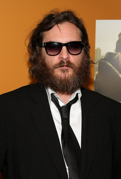 Joaquin Phoenix must wear sunglasses at all times and ignore Ryan Seacrest on the red carpet.