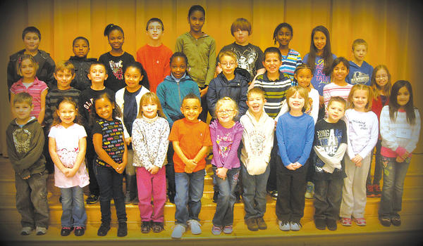 Students were chosen by their teachers as students of the month for February at Salem Avenue Elementary. Row one, from left, Ilya Siamashka, Keianna Long, Brooke Dupree, Taylor Donaway, Waverly Reeves, Kayden Ecker, Aidan Jackson, Jacob Brechbill, Lee Hayslip, Juliana Wood and Alyzae DeLaRossa. Row two, Haily Whittaker, Michael Flaherty, Braden Foster, Emina Jennings, Marissa Abissi, Blake Vanes, Michael Bryers, Nikerah Bauserman, Amy Rivera and Taylor Jacobs-Roberts. Row three, Jayden Kline, Devin Reed, Kianna Montgomery, Riley Parker, Genesis Estevez, Jaden Forberger, Mariama Cham, Helen Stephenson and Airan Spessard. Absent from the photo is Genese Castro.