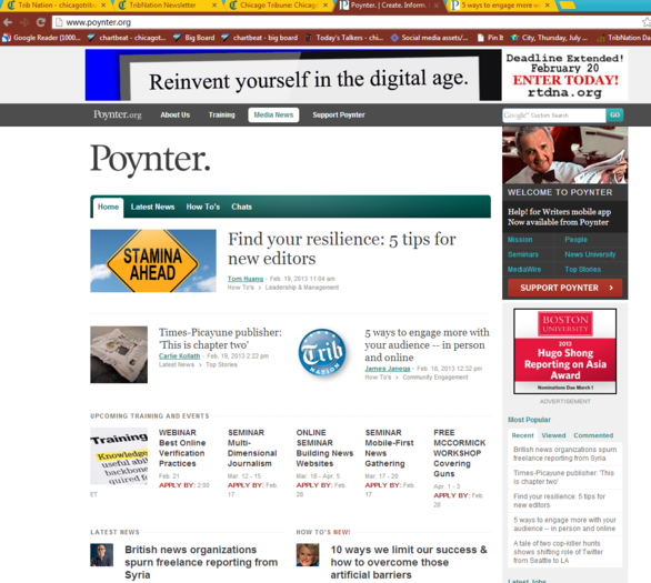 Trib Nation makes a cameo on Poynter.org