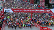 Web site problems caused Bank of America Chicago Marathon officials to suspend online registration for the Oct. 13 race after four hours of problems Tuesday.