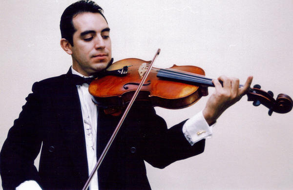 Mauricio Cespedes Rivero, principal violist for the Orlando Philharmonic Orchestra, will perform during the Phil's new Principals at the Mezz series.