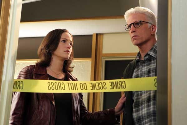 "An investigator becomes a suspect in a new episode of ""CSI: Crime Scene Investigation"" at 10 p.m. on CBS. With Jorja Fox and Ted Danson."