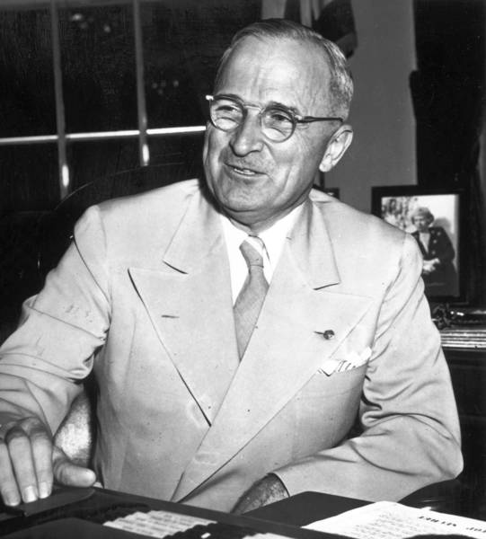 President Harry S. Truman ordered the desegregation of America's armed forces in 1948.
