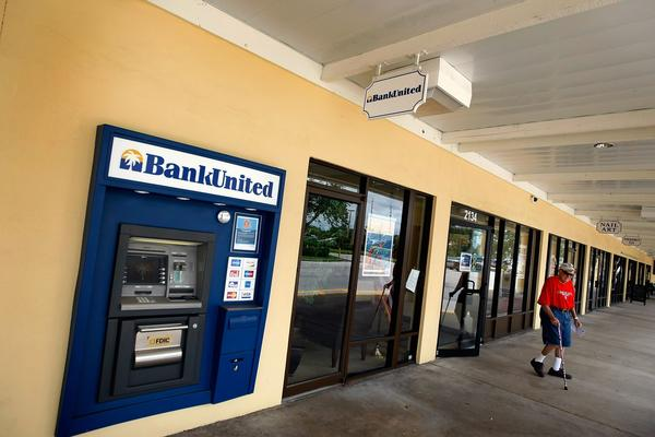 BankUnited Financial Corp. of Coral Gables, the largest Florida-based savings institution, was seized in May 2009 by regulators who said it had run out of capital. A specialist in loans to foreigners buying Sunshine State homes, BankUnited was a top originator of pay-option adjustable-rate mortgages, which permitted payments so low that loan balances rose instead of fell.  Often made without documenting borrowers' incomes, pay-option ARMs played a role in the downfall of Washington Mutual Bank in Seattle along with Countrywide Financial Corp., IndyMac Bank and Downey Savings in California. Cost: $4.9 billion.