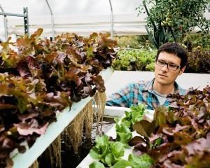 Evo Farm founder David Rosenstein.