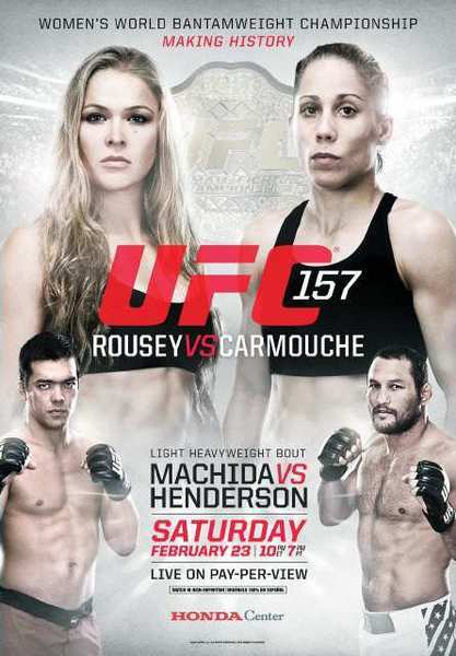 The UFC will make history on Saturday, February 23 when Ronda Rousey becomes the first woman to defend her UFC bantamweight title.