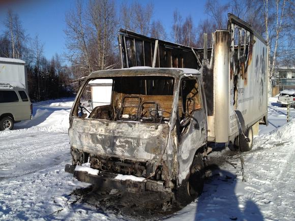 Two Arc of Anchorage Vehicles Targeted in Arson Fires