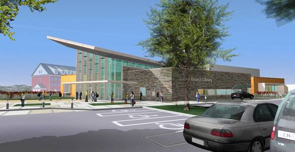 Proposed Laurel Library