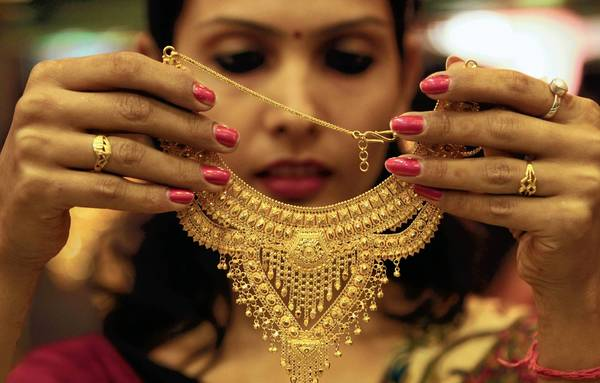 The price of gold jewelry could fall as the precious metal has tumbled about 16 percent from its all-time high of more than $1,900 in 2011. Gold futures closed Tuesday at $1,603.60 an ounce.