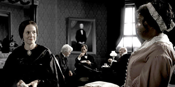 """A scene from """"Saving Lincoln."""""""