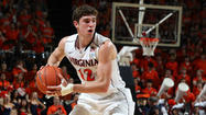 Joe Harris scored 16 points but it wasn't enough for Virginia to beat Miami.  Freshman Evan Nolte tied the game at 50 with 14 seconds left, hitting a three pointer off an inbounds play.  But UVA lost Reggie Johnson on the ensuing possession, and Shane Larkin found him for the game winning lay up.  Durand Scott stole the inbounds pass and iced the game at the line as Miami stayed unbeaten in the ACC with the 54 to 50 win.