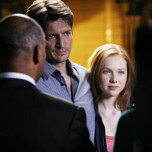 "ABC's ""Castle"" stars Nathan Fillion as a writer who's the single dad of a teen played by Molly Quinn."