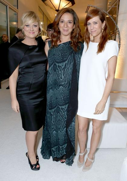 From left, Amy Poehler, Maya Rudolph and Kristen Wiig.