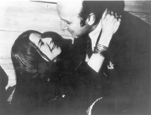 Music industry veteran Clive Davis with Janis Joplin.