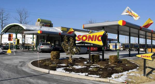 The Sonic Drive-In on Route 248 in Lower Nazareth Township was shut down Monday amid a dispute with the restaurants's landlord.