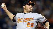 Orioles' Tommy Hunter taking it as it comes
