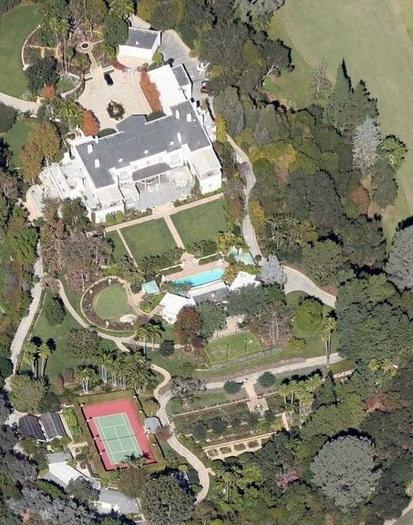 Gary Winnick's trophy estate in Bel-Air