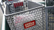 "Office Depot Inc. is buying smaller rival OfficeMax Inc. in what it's calling a ""merger of equals,"" creating a heftier office-supply company to challenge industry leader Staples."