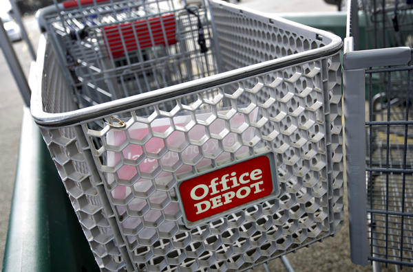 Office Depot buys OfficeMax