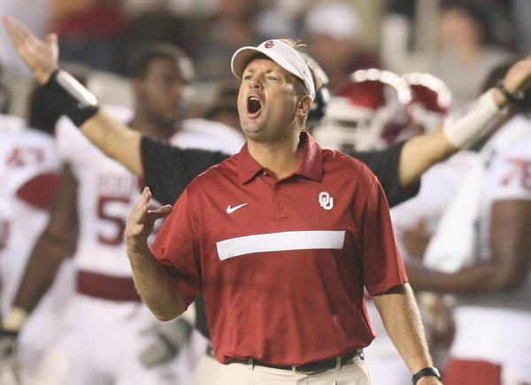 Oklahoma coach Bob Stoops will try and lead the Sooners back to another Big 12 title.